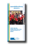 Flyer Jugendstiftung Janewers